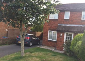 Thumbnail 2 bed semi-detached house to rent in Woodmere Way, Kingsteignton, Newton Abbot