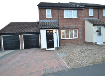 Thumbnail 3 bed semi-detached house for sale in Crown Field Road, Glemsford, Sudbury