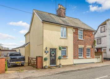 Thumbnail 2 bed semi-detached house for sale in Mead Villas, Hare Street, Buntingford