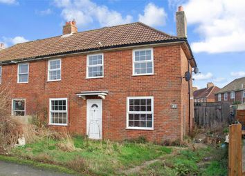 Thumbnail 3 bed semi-detached house for sale in St. Johns Road, Elvington, Dover, Kent
