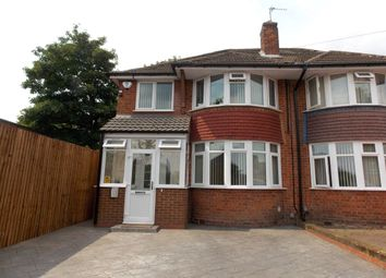 Thumbnail 3 bed semi-detached house for sale in Rosemary Road, Stechford, Birmingham