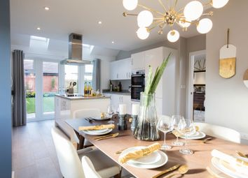 "Thumbnail 4 bedroom detached house for sale in ""The Harwood"" at Omega Boulevard, Warrington"