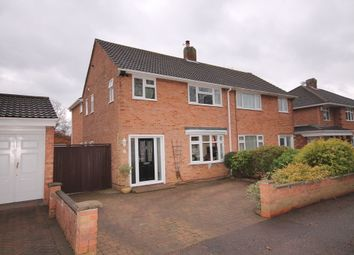 Thumbnail 4 bed semi-detached house for sale in Foxlease, Putnoe, Bedford