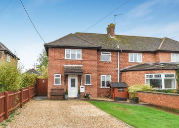 Thumbnail 3 bed semi-detached house for sale in Station Road, Marsh Gibbon, Bicester