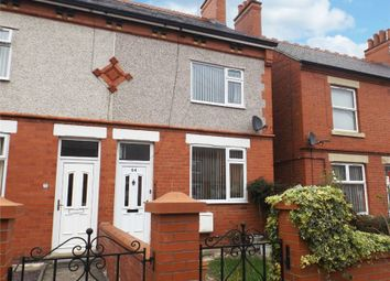 Thumbnail 2 bed end terrace house for sale in Norman Road, Wrexham