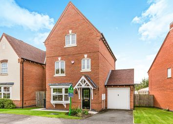 Thumbnail 3 bed detached house for sale in Glamorgan Way, Church Gresley, Swadlincote
