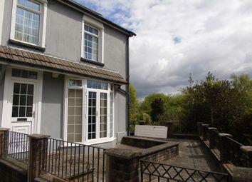 Thumbnail 4 bed end terrace house for sale in Heath Terrace, Graigwen, Pontypridd