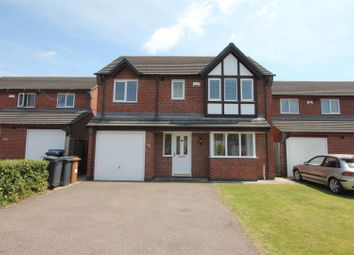 Thumbnail 4 bed detached house for sale in Florian Way, Hinckley