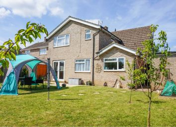 Thumbnail 5 bed detached house for sale in Eastrea Road, Peterborough