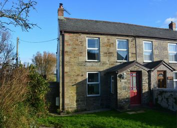 Thumbnail 3 bed semi-detached house for sale in Bridge Road, Illogan, Redruth, Cornwall