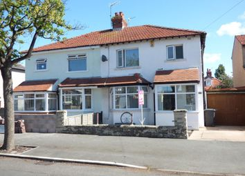 Thumbnail 3 bed semi-detached house for sale in Albert Road, Morecambe, Lancashire