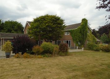 Thumbnail 5 bed detached house for sale in Whittington Road, Gobowen, Oswestry