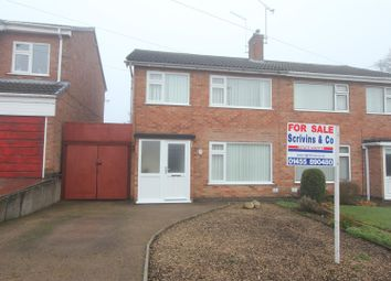 Thumbnail 3 bed semi-detached house for sale in Bearsdon Crescent, Hinckley