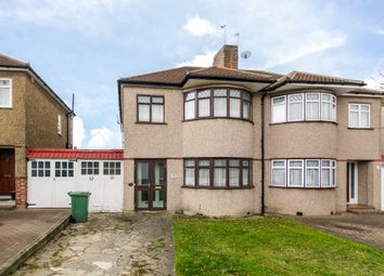Thumbnail 3 bed semi-detached house for sale in Lewis Road, Sidcup