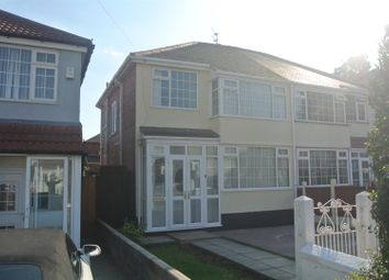 Thumbnail 3 bed semi-detached house for sale in Regent Avenue, Huyton, Liverpool