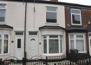 Thumbnail 2 bedroom terraced house for sale in 8 Mckinley Avenue, Albermarle Street, Hull 3Jr.