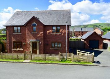 Thumbnail 4 bed detached house for sale in 2, Maes Llwyn Celyn, Trefeglwys, Caersws, Powys