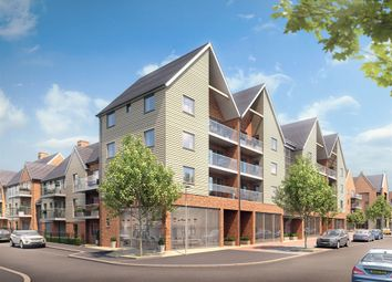 "Thumbnail 1 bed flat for sale in ""The Upnor House"" at Repton Avenue, Ashford"