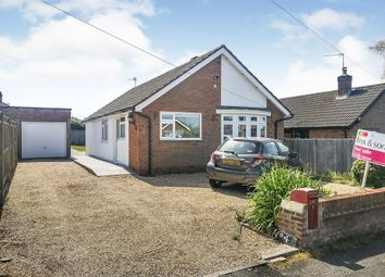 Thumbnail 2 bedroom detached bungalow for sale in Longridge Road, Hedge End, Southampton