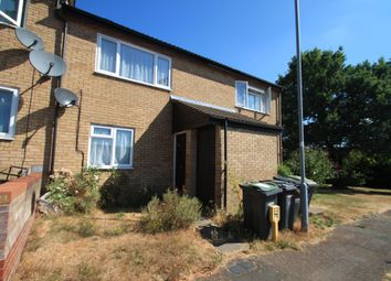Thumbnail 1 bed property to rent in Repton Close, Luton