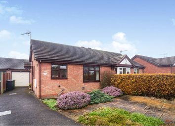 Thumbnail 2 bedroom semi-detached bungalow for sale in Carisbrooke Close, Lincoln