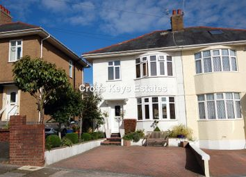 3 bed semi-detached house to rent in Parker Road, Plymouth PL2