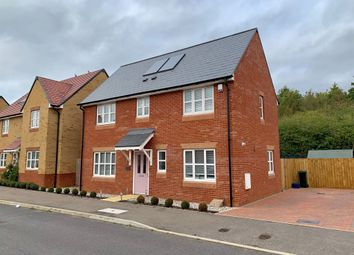 Thumbnail 3 bed detached house for sale in Ivernia Avenue, Brooklands, Milton Keynes