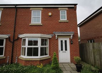 Thumbnail 3 bed semi-detached house to rent in Ash Grove, Consett
