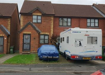 Thumbnail 2 bed end terrace house for sale in Greenacre Close, Northolt, Middlesex