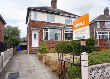 Thumbnail 2 bed semi-detached house for sale in Gibson Place, Meir, Stoke-On-Trent, Staffordshire
