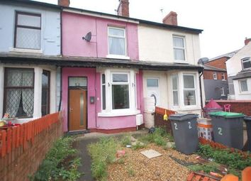 Thumbnail 2 bedroom terraced house for sale in Hyde Road, Blackpool