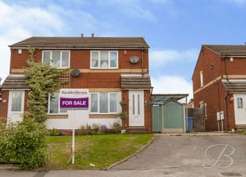 Thumbnail 2 bed semi-detached house for sale in Richmond Drive, Mansfield Woodhouse, Mansfield