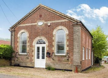 Thumbnail 3 bed detached house for sale in The Old Chapel, The Street, North Pickenham, Swaffham, Norfolk