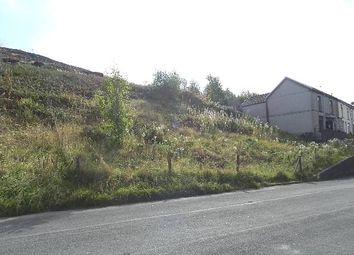 Thumbnail Land for sale in Graig Yr Eos Terrace, Penygraig