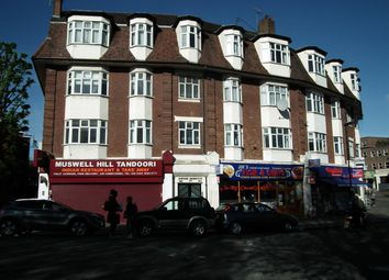 Thumbnail 4 bed flat to rent in Avenue Mansions, Alexandra Park Road, London