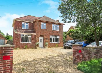 Thumbnail 4 bed detached house for sale in Broomhill, Downham Market
