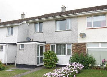 Thumbnail 3 bed semi-detached house for sale in Carrickowel Crescent, Boscoppa, St. Austell