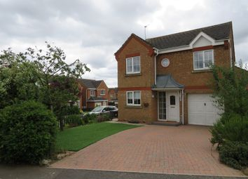 Thumbnail 4 bed detached house for sale in Merestone Road, Corby