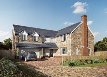 Thumbnail 6 bed detached house for sale in Willow Walk, Lea, Ross-On-Wye