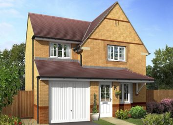 "Thumbnail 3 bed detached house for sale in ""Cheadle"" at Church Road, Webheath, Redditch"