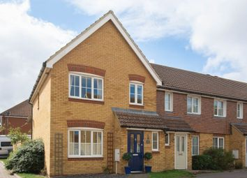 Thumbnail 3 bed end terrace house for sale in Russet Close, Ash, Canterbury
