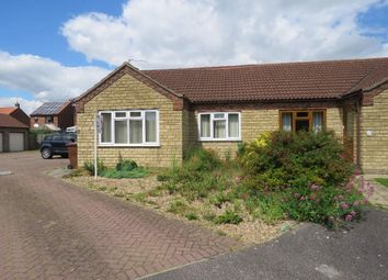 Thumbnail 2 bed semi-detached bungalow for sale in Talbot Close, Navenby