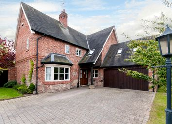 Thumbnail 5 bed detached house for sale in Hall Gardens, Church Lane, Hemington, Derby
