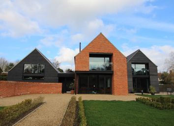 Thumbnail 5 bed detached house for sale in London Road, Wymondham