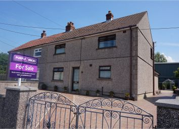 Thumbnail 3 bed semi-detached house for sale in Brynlluan, Llanelli