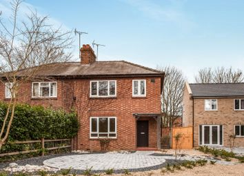 Thumbnail 3 bed detached house to rent in Gazeley Road, Kentford, Newmarket