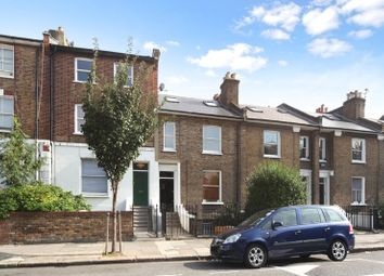 Thumbnail 3 bed flat to rent in Brackenbury Road, London
