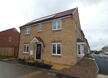 Thumbnail 3 bed semi-detached house for sale in Teasel Close, Whittlesey, Peterborough