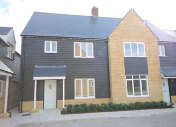 Thumbnail 3 bed semi-detached house for sale in Canal Close, Enslow, Kidlington