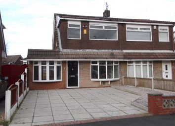 Thumbnail 3 bed semi-detached house for sale in Taunton Avenue, Sutton Leach, St. Helens